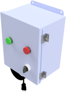 Type I: Manual switch chute control