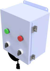 Type II: Manual switch with sanitizer control